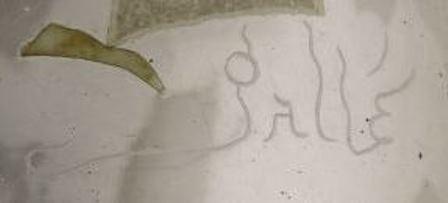 Fancy Etched Galle Vase Marking
