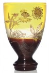 Galle Vase with Astrantia Design