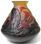 Value of Mold Blown Galle Vase