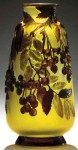Galle Vase with Mountain Laurel Design