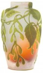 Galle Vase with Sycamore Design