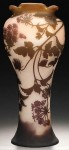 Galle Vase with Violets Design